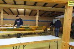 Aufbau Kappenabend 2012